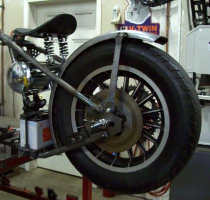 Weld-On Bolt-On 1952 to 2003 Sportster & Big Twin Hardtails
